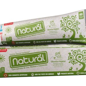 Creme Dental Contente Orgânico Natural com Extratos - Abr Loja Online