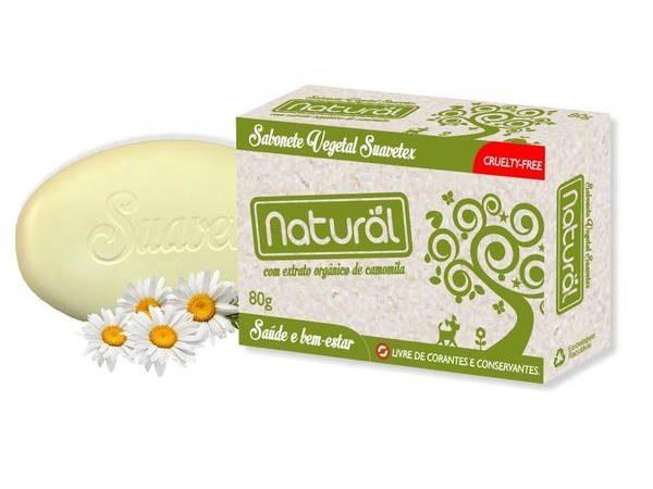 Sabonete Vegetal Natural- Suavetex - Abr Loja Online