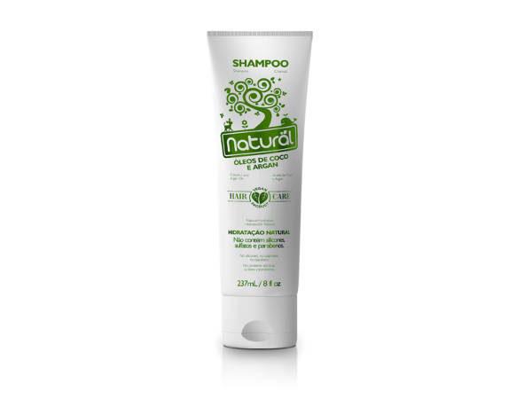Shampoo Natural Suavetex com Óleos de Coco e Argan