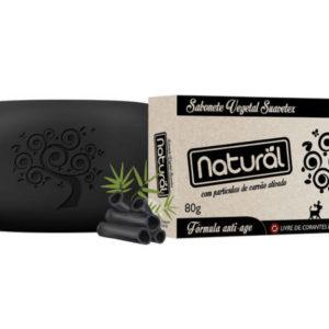 Sabonete Natural Suavetex Com Carvão Ativado - Abr Loja Online